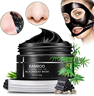 Blackhead Mask,Sky-shop Facial Mask Nose Mask Face Mask Blackhead Cream with Activated Charcoal Deep Pore Cleanse, Peel Off Deep Skin Clean Purifying Face Mask for Acne and Blackheads (100g) (100G)