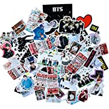 KPOP BTS Meme Stickers Luggage Case Skateboard Guitar Laptop Cell Phone Travel Door Car Bike Bicycle Stickers (BTS-90p)