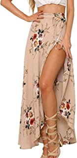 Womens Boho Floral Tie Up Waist Summer Beach Wrap Cover...