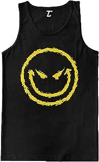 Evil Smiley - Funny Badass Emoticon Men's Tank Top