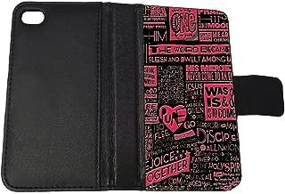 Bible Scripture - Apple iPhone 4/4s Billfold Wallet Case