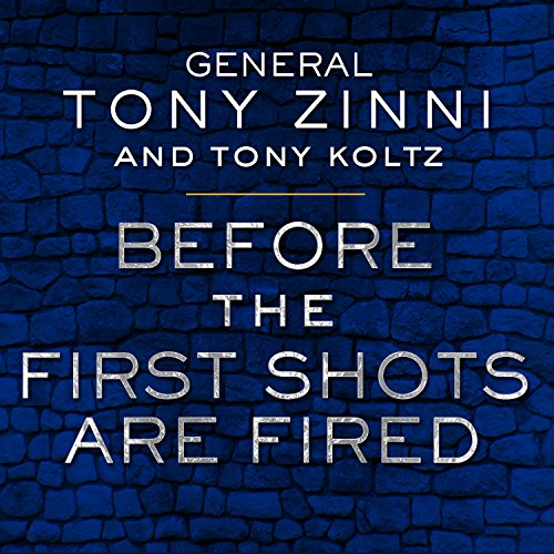 Before the First Shots Are Fired audiobook cover art