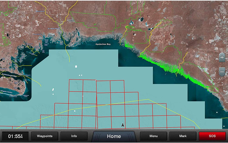 Garmin Standard Mapping  Gulf Coast Professional microSD SD Card [010C118800]