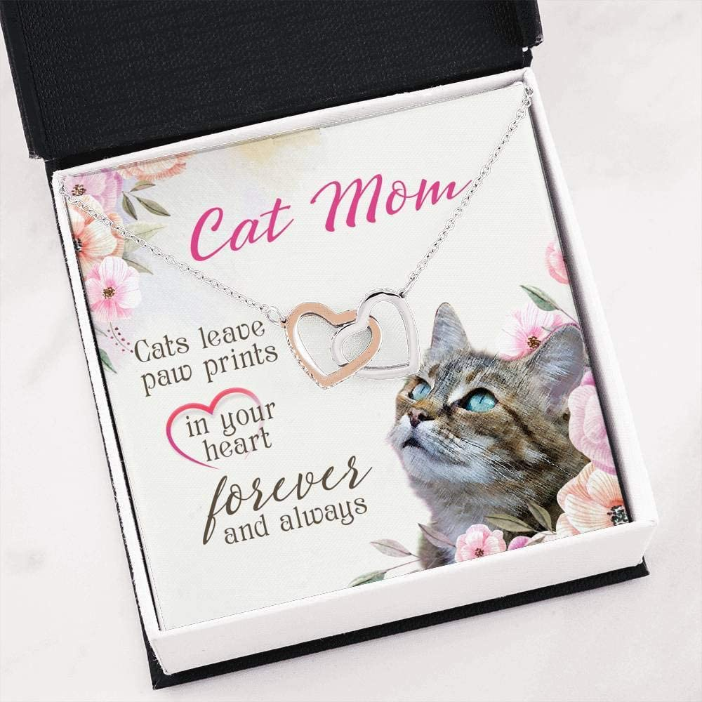 Sweet Cat Mama Gift   Jewellery For Cat Mom   Cat Owner Birthday ...
