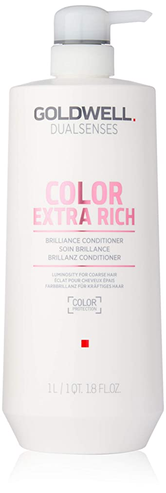 曲げるやりすぎゴールドウェル Dual Senses Color Extra Rich Brilliance Conditioner (Luminosity For Coarse Hair) 1000ml