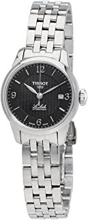 Tissot T-Classic Le Locle Automatic Black Dial Stainless Steel Ladies Watch T41118354