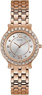 Guess Blush Women's Silver Dial Stainless Steel Band Watch - W1062L3