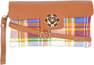 Kleio Casual Printed Sling Clutch For Girls(M2)