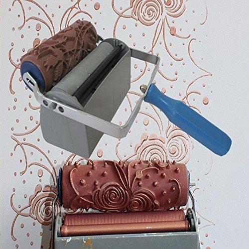 Bluelover Macchina A Doppio Rullo 6 Pollici Decorativo Colore Stampa