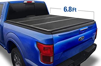 Tyger Auto 6.75 T5 Alloy Hard Top Tonneau Cover TG-BC5F1124 Works with 2017-2019 Ford F-250 F-350 F-450 Super Duty | Styleside 6.8' Bed