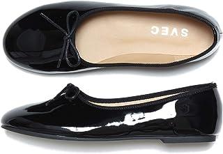[シュベック] パンプス バレエシューズ フラットシューズ カンフーシューズ ストラップシューズ ダンスシューズ スリッポン チャンキーヒール ペタンコ ぺたんこ ラウンドトゥ リボン レディース 春 靴 [ ZNX115C ]