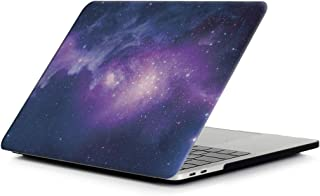 Miss flora MAC accessories .Blue Starry Sky Pattern Laptop Water Decals PC Protective Case for MacBook Pro 15.4 inch A1990 (2018)