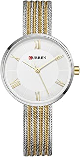 CURREN Original Women's Girls Sports Waterproof Stainless Steel Quartz Wrist Watch 9020