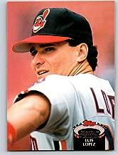 1992 Stadium Club #556 Luis Lopez Mint Baseball MLB Indians
