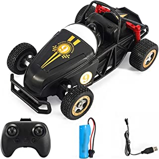 YHomU Remote Control Car 2.4GHz Rechargeable Reusable Interactive Offroad Vehicle RC Car Birthday Racing Model Drifting Ou...