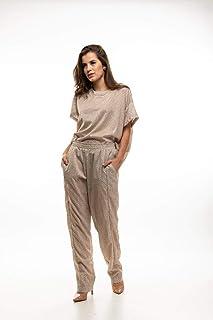 Blusa Pijama Bege