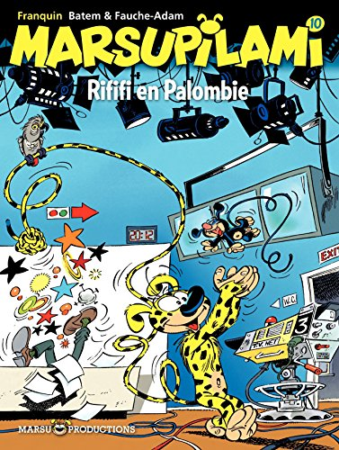 Marsupilami – tome 10 - Rififi en Palombie (French Edition)