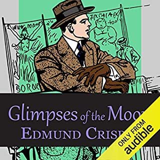 Glimpses of the Moon audiobook cover art