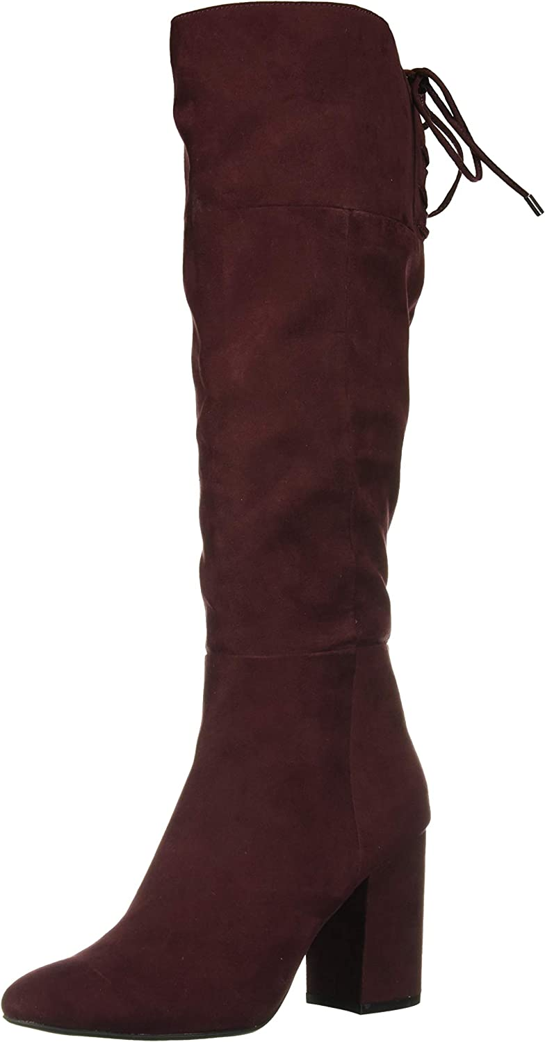 Kenneth Cole New York Women's Corie Lace Up Knee High Boot