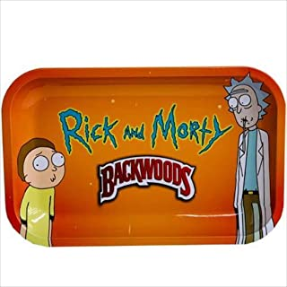Rolling Tray for Weed in Durable Metal with Vintage Cartoon Design