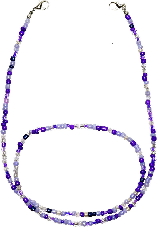 Face SALENEW very popular Mask Holder Lanyard Non-slip Clip Eyeglass Chains Beaded It is very popular Ne
