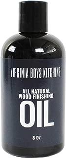 Virginia Boys Kitchens All Natural Wood Seasoning Oil (8 oz Bottle)
