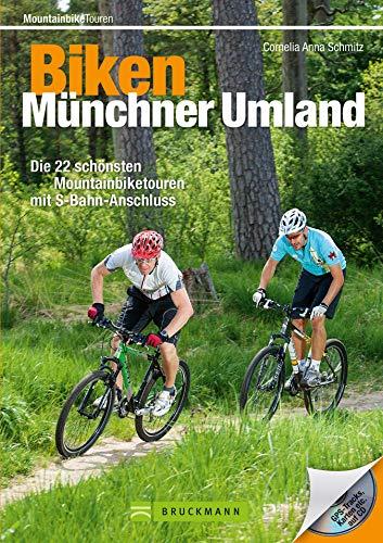 Biken Münchner Umland: Mountainbike München: Biken im Münchner Umland und Isarradweg. Die 25 schönsten Mountainbiketouren mit S-Bahn-Anschluss. MTB Touren Bayern inkl. GPS-Tracks und Roadbooks!