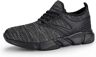 Hawkwell Men's Knit Lightweight Athletic Walking Running Sneakers