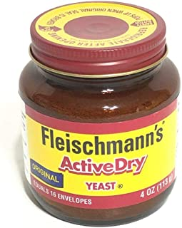 Fleischmanns Classic Active Dry 4 oz Yeast Bread Exp 2021 or 2022 Original Rise