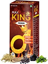 Max Ayurveda King For Men - 60 Capsules