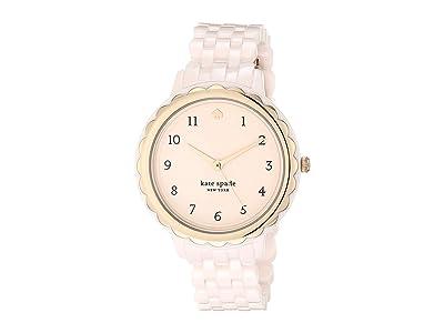 Kate Spade New York Morningside Ceramic Watch KSW1585 (Pink) Watches