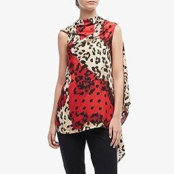 Leopard/Red/Black