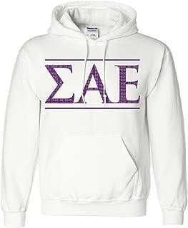 Apparel - Sigma Alpha Epsilon, Be True Greek Letters Hoodie