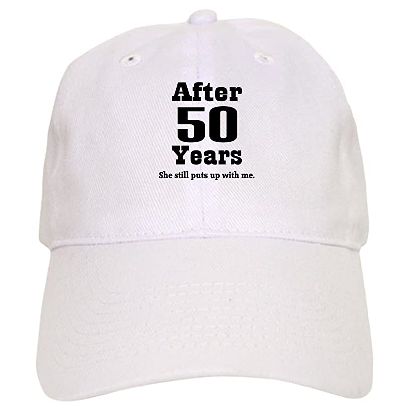 CafePress 50th Anniversary Funny Quote Cap Baseball Cap