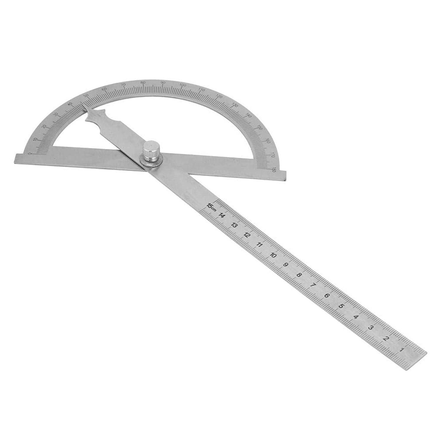 1Pcs 100% quality warranty! Rotary Protractor 1mm for Selling and selling Degree Steel Stainless