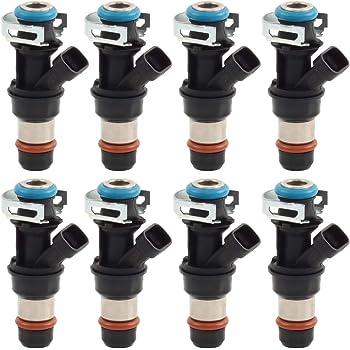 Set of 8 MOSTPLUS 25326903 12580426 Fuel Injectors Compatible for Silverado Tahoe Sierra Express L59 5.3L 2002-2007