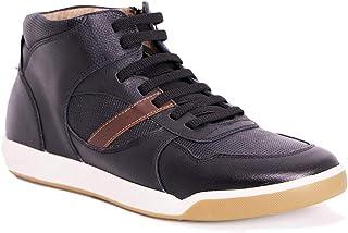 Max Denegri Zapato Deportivo District Negro 7cms De Altura