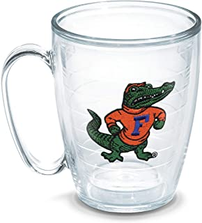 Tervis 1196420 Florida University Gator Body Emblem Individual Mug, 16 oz, Clear
