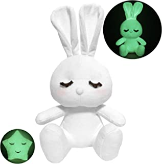 Halloween Toys Gifts for Babies Kids, Glow in The Dark Plush Bunny, Super Cute Stuffed Rabbit, Night Buddy to Defeat Kids' Fear of The Dark, 13
