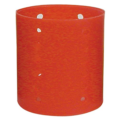 """Soft 'N Style Jumbo Magnetic Rollers 2 1/2"""" Red (807X), 6 Rollers"""