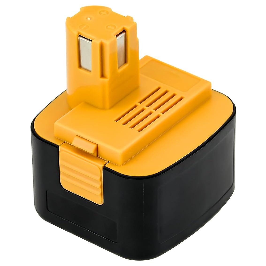 アトミックスロットからかう改良版 パナソニック12vバッテリー ezt901バッテリー パナソニック互換12vバッテリーEZ9200 3000mAh EZ9108(S) EY9200(B) EY9201(B) EZ9001 EZT901 パナソニック12v など対応 ニッケル水素電池