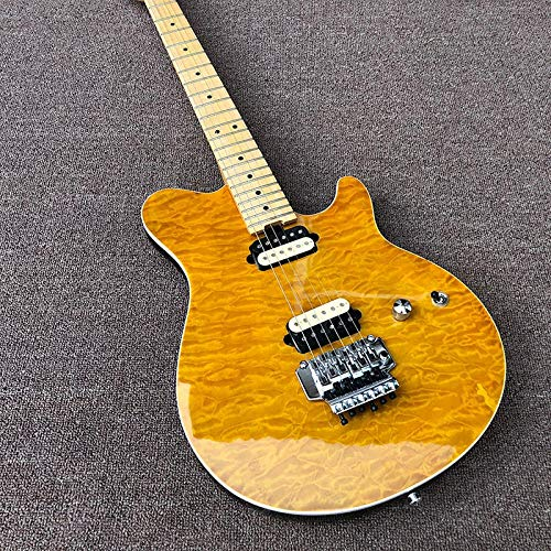 CJWSLYT Guitarra Guitarra Eléctrica 6 Cuerdas De Guitarra...