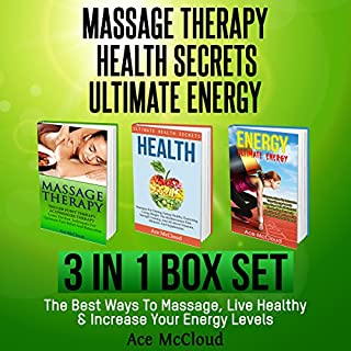 Massage Therapy: Health Secrets: Ultimate Energy audiobook cover art