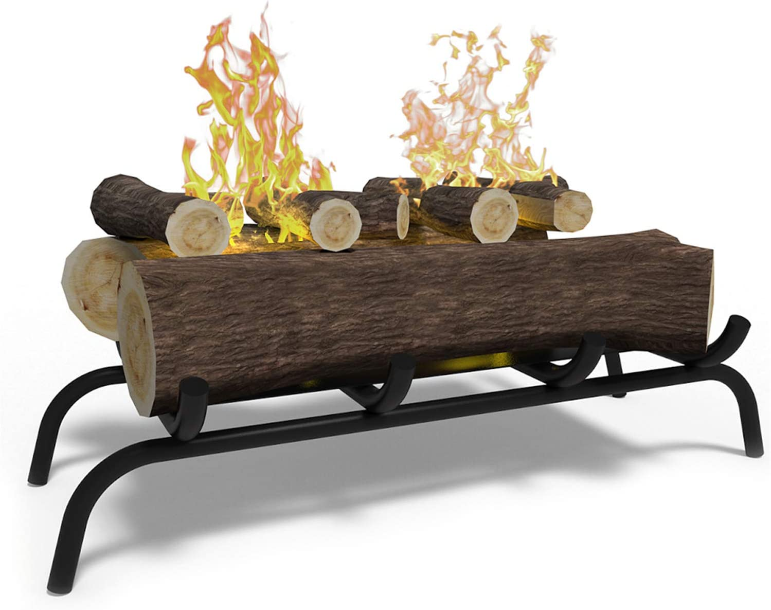 Regal Flame 18 inch Finally popular brand Convert to Ethanol Log Set Fireplace with Bu Max 84% OFF