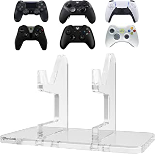 LinkIdea Game Controller Stand Holder, 2 to 1 Game Bracket Manual Splicing Controller Organizer Compatible with Playstatio...
