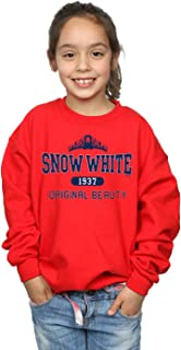 Disney Girls Princess Snow White Original Beauty Collegiate Sweatshirt