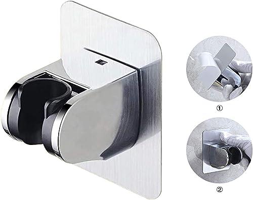 KAIYING Self Adhesive Handheld Shower Head Holder, Adjustable Angle Shower Wand Holder, Bathroom Wall Mount Shower Ar...