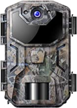 Victure Wildlife Camera 16MP Night Vision Motion Activated with Upgrade Waterproof Design 1080P Trail Camera No Glow for Hunting and Surveillance