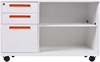 Daily Equipment File Cabinet Office Desk Side Cabinet Side Cabinet Multifunctional Mobile File Cabinet Storage Cabinet Wit...