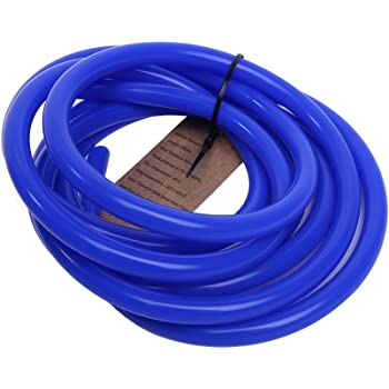 8mm ID Blue 10 Metre Length Silicone Vacuum Hose AutoSiliconeHoses